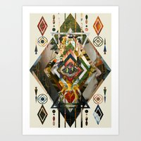 Caleidos Art Print