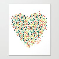 Valentine´s Day Canvas Print
