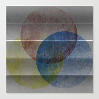Canvas Print featuring Trianglr by Graffititech/DGNR