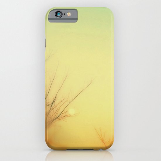 Tangerine Moon iPhone & iPod Case