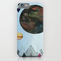 iPhone & iPod Case featuring Moons and Mountains by Lexie Pearson