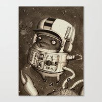 Mighty Manfred Canvas Print
