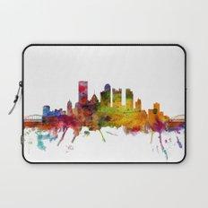 Pittsburgh Pennsylvania Skyline Laptop Sleeve