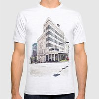 Historic Tacoma Theater Mens Fitted Tee Ash Grey SMALL