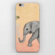 Elephant and the Bird iPhone & iPod Skin