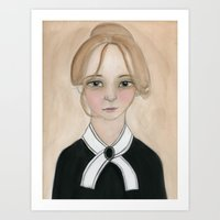 Miss Charlotte Art Print