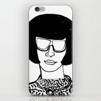 Faces Of Fashion Part De… iPhone & iPod Skin