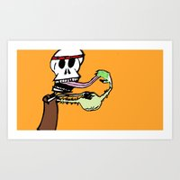 lick it clean Art Print