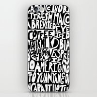 Must Have Coffee : Black iPhone & iPod Skin