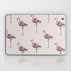 Flamingo and French Bulldog  Laptop & iPad Skin