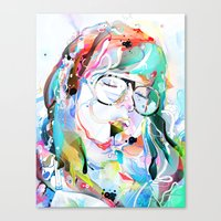 intoxicate 2 Canvas Print