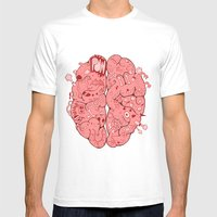 Thought Process Mens Fitted Tee White SMALL