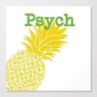 Minimalist Psych  Canvas Print