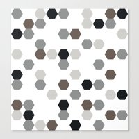 Graphic_Cells Canvas Print