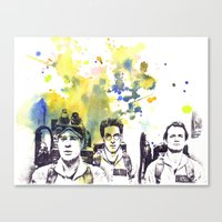 Ghostbusters Peter Venkm… Canvas Print