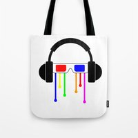 Technicolor tears  Tote Bag