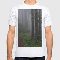 Forest Of Fog Mens Fitted Tee Ash Grey SMALL