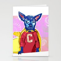 Cyrus The Superhero  Stationery Cards