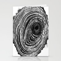 Tree Rings - Dark Stationery Cards