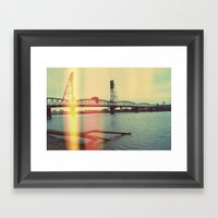 Portland Framed Art Print