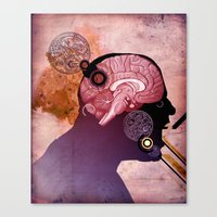Daniel's Head Canvas Print
