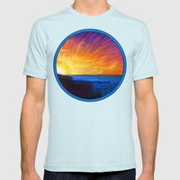JRB Album Front Cover Art Mens Fitted Tee Light Blue SMALL