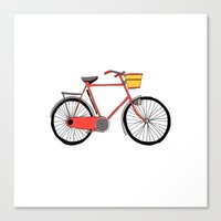 Bicycle Number Four Canvas Print