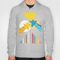 Giraffes In The Desert Hoody