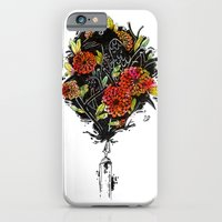 iPhone & iPod Case featuring Dhalias by Clinton Jacobs