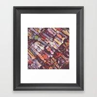 Glass Bowls Framed Art Print