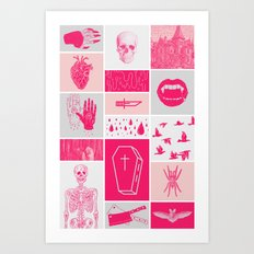 Fright Delight Art Print