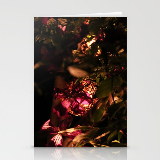 Night Blooms I Stationery Card