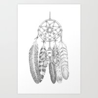 A Dreamcatcher Art Print
