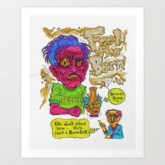 Bern Out Art Print