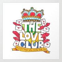 The Love Club Art Print