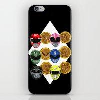 MMPR iPhone & iPod Skin
