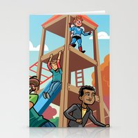 Playground Hero Stationery Cards