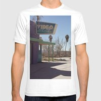 Insert Coins Mens Fitted Tee White SMALL