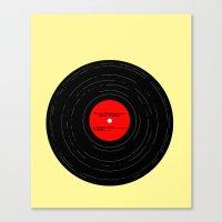 Born To Run- Bruce Sprin… Canvas Print