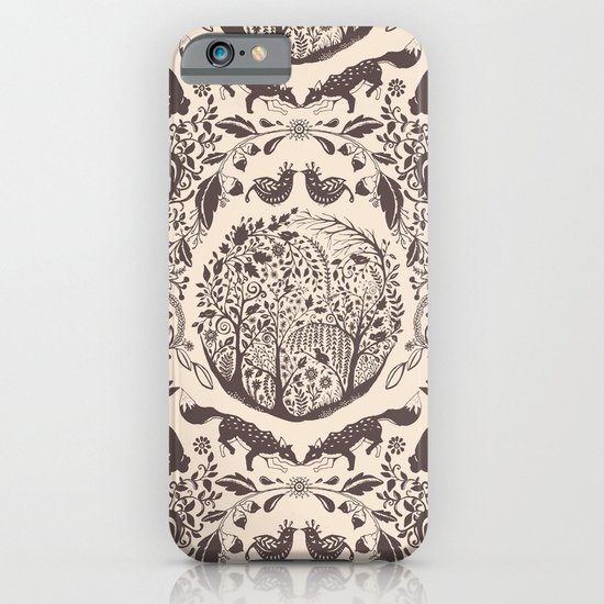 Forest Pattern iPhone & iPod Case