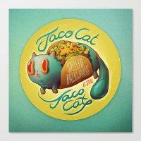 Tacocat Canvas Print
