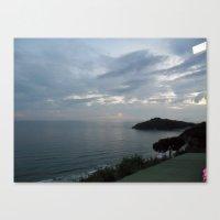 Gaeta Sea View Canvas Print