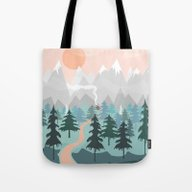 River Forest Tote Bag