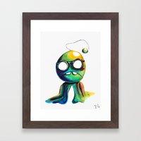 BOBsicle Framed Art Print
