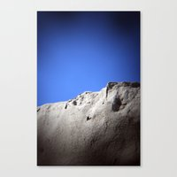 wall of sand Canvas Print