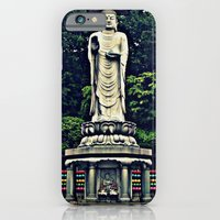 iPhone & iPod Case featuring The Buddha by Justin Catron