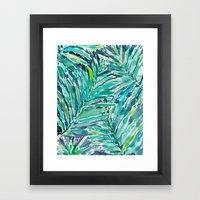 TROPICAL CANOPY Framed Art Print