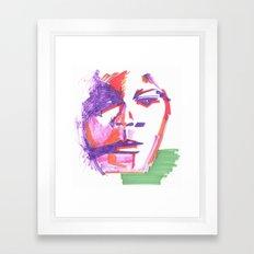 Aufgewühlt Framed Art Print