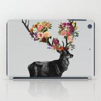Spring Itself Deer Floral iPad Case