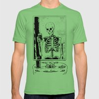 Skelfie Mens Fitted Tee Grass SMALL